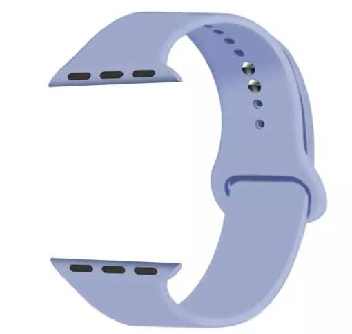 4D220120 0674 4C99 B4DC 3A61572B78E6 Silicon Watch Band for Apple Watch 1, 2, 3, 4, & 5