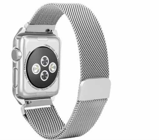 19288108 F47A 4473 86B4 37ECE386898E Apple Watch: Stainless Steel Magnetic Strap for Apple Watch Milanese Series 4 3 2 1