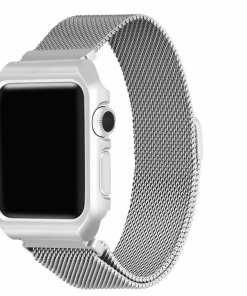 84630ED9 51D6 407C 9CE4 3D6D8FF90DAE Apple Watch: Stainless Steel Magnetic Strap for Apple Watch Milanese Series 4 3 2 1