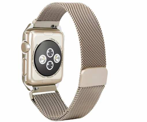 B5688FA1 FB16 4A84 9D16 36CD046CCF42 Apple Watch: Stainless Steel Magnetic Strap for Apple Watch Milanese Series 4 3 2 1