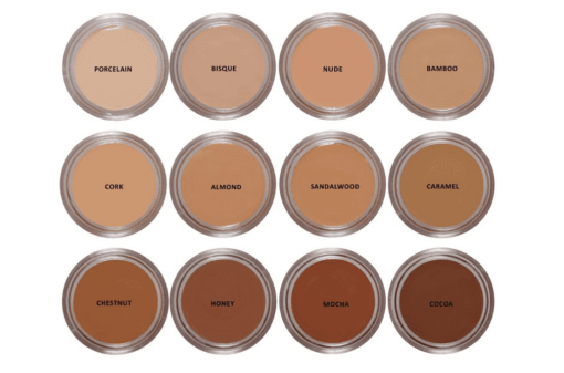 all colors Organic Foundation Sandalwood