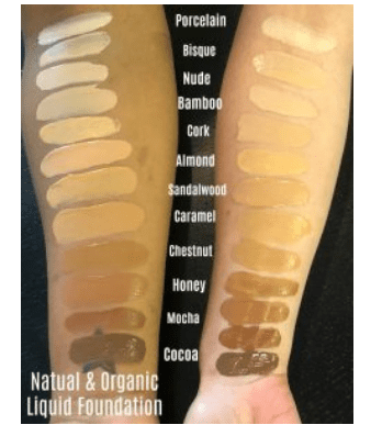 skin tone 1 Organic Foundation Sandalwood