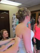 Bridal hair - Ashley