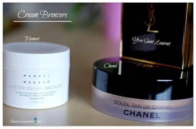 cream bronzers manasi chanel ysl