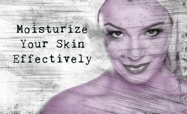 Moisturize Your Skin 2