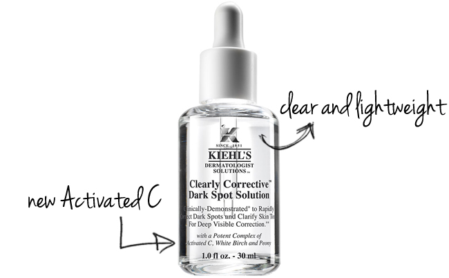 [Review] Serum Kiehl's Clearly Corrective Dark Spot Solution