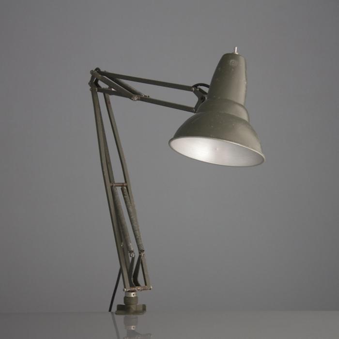 Swedish military desk lights  1960s  Skinflint