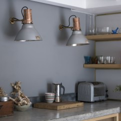 Kitchen Wall Lights Black Bench For Table Antique Gecoray Light By Gec 1920s Skinflint Above