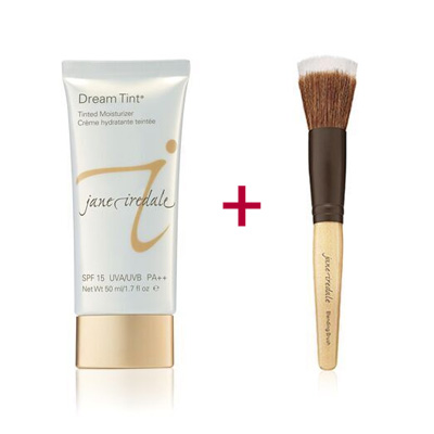 Duo-of-a-Jane-Iredale-Dream-Tint-and-the-Blending-Brush