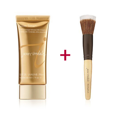 Duo-of-the-Jane-Iredale-Glow-Time-BB-Cream-and-Blending-Brush