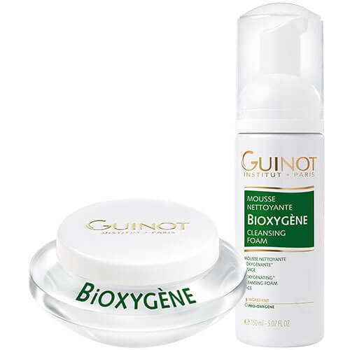 Guinot Duo of Bioxygene Moisturiser and Cleansing Foam