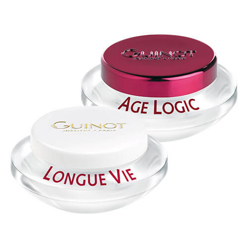 Guinot Duo of Longue Vie Cellulaire and Age Logic Cellulaire