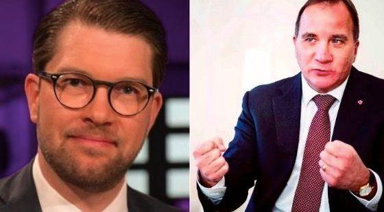 Sósíaldemókratar og Svíþjóðardemókratar stærstir í könnun