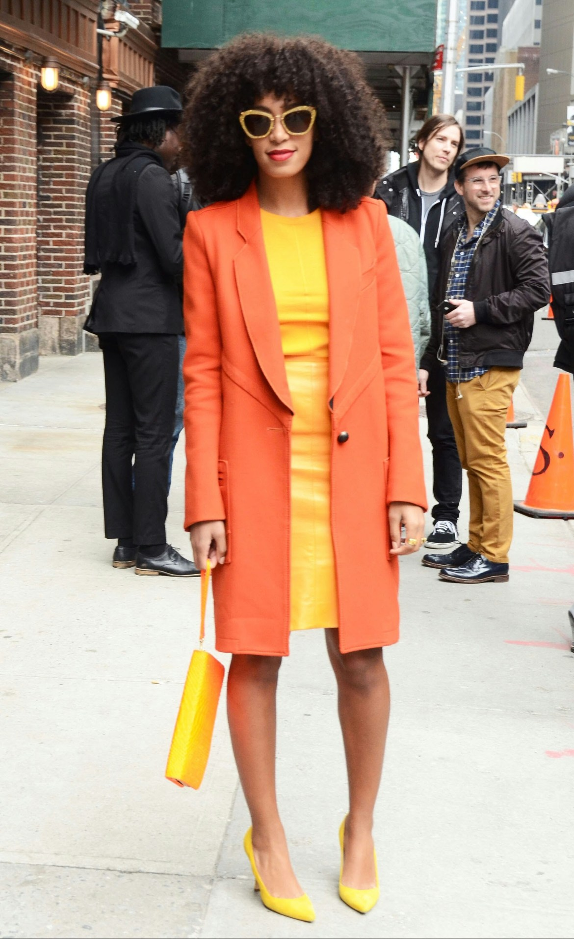 Solange Knowles; the fashionista