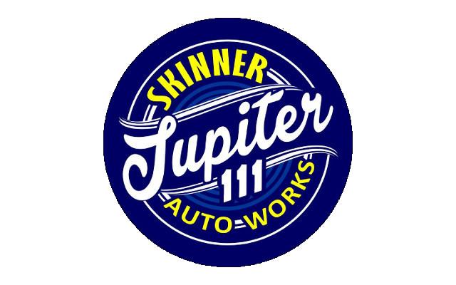 Logo Bengkel auto body paint jogja - skinner jupiter white