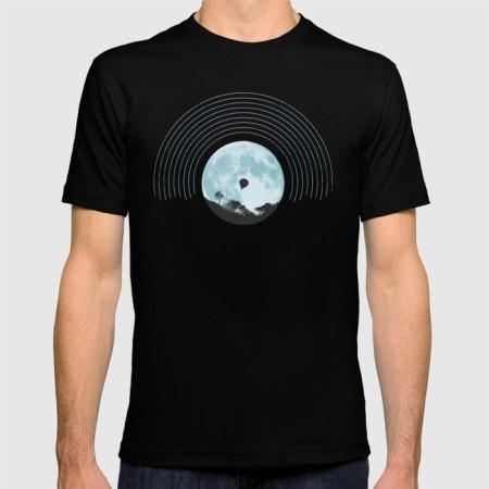 moon tune t-shirt