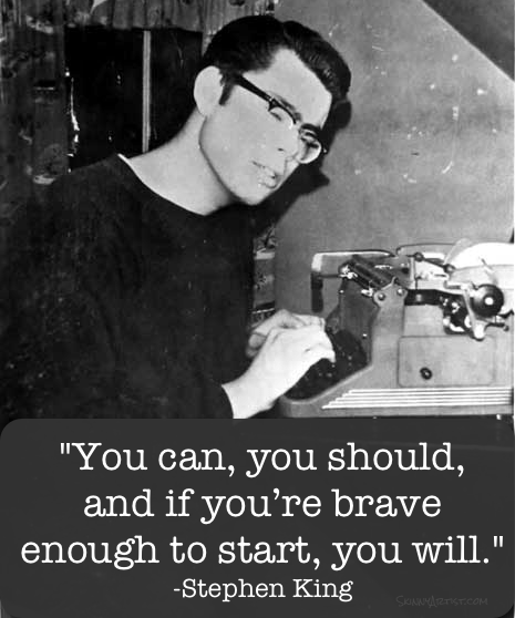 Stephen King Image Quote On Writing