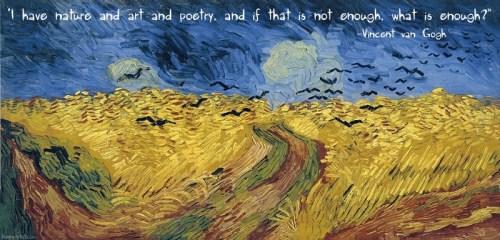 What is enough Van Gogh