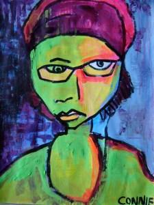 Artwork by artist Connie Hozvicka