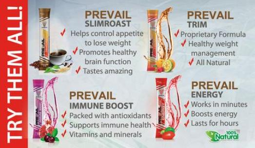 Valentus Prevail Slimroast - Prevail Trim - Prevail Immune Boost - Prevail Energy Available in canada