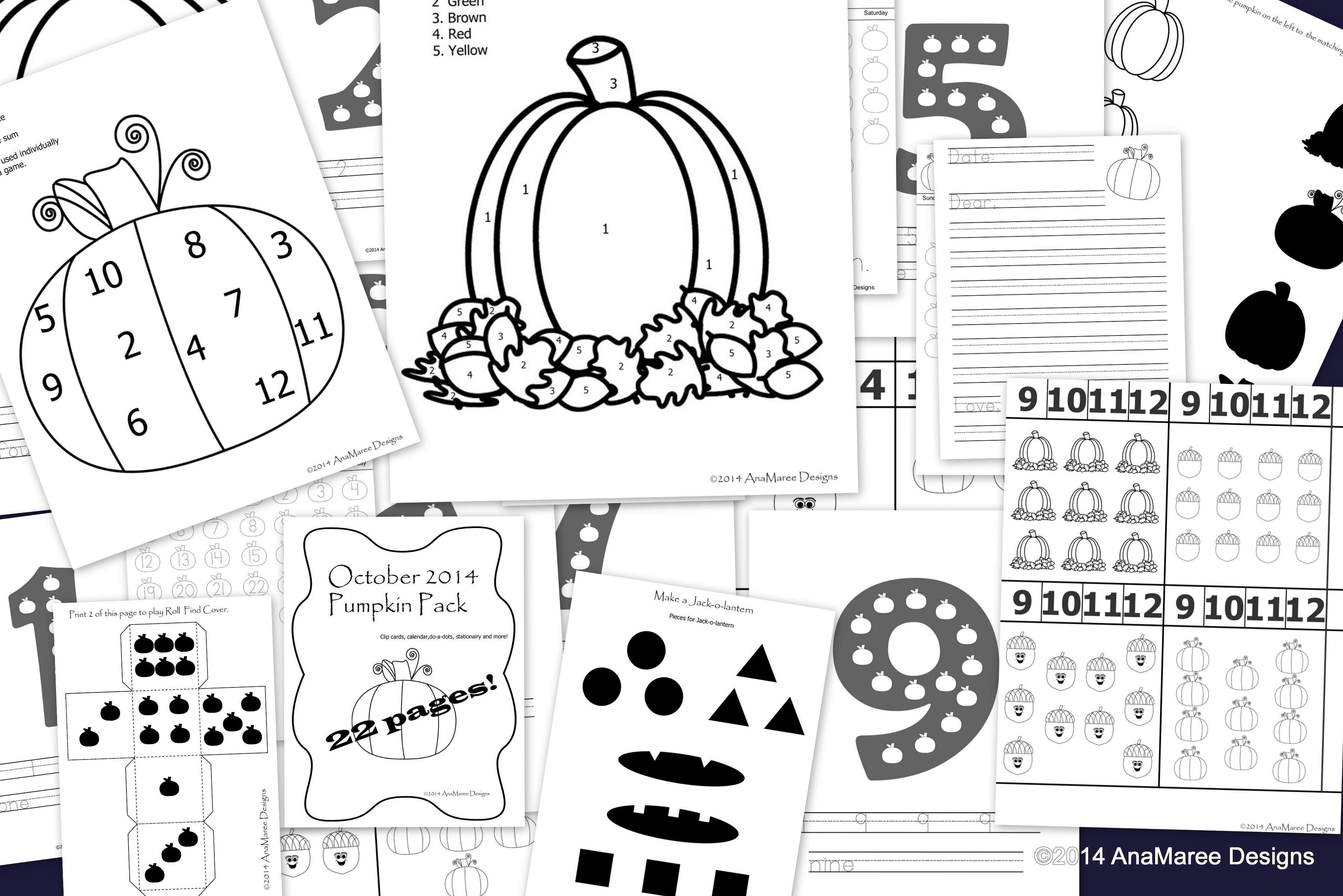 october is coming… PUMPKINS! « anamaree designs