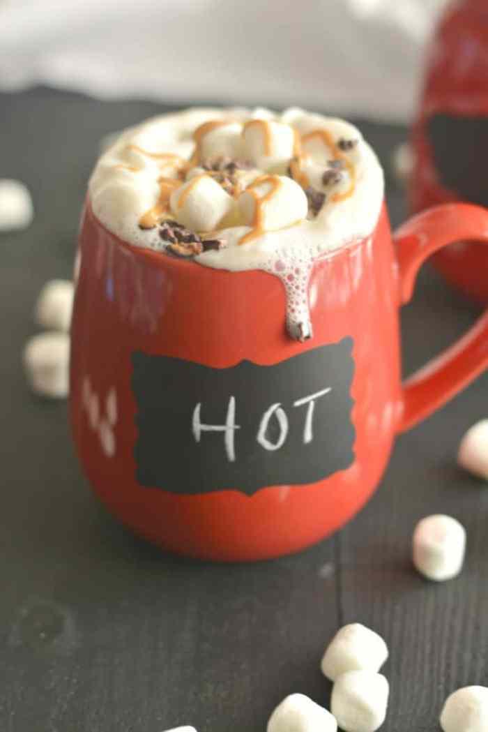 Peanut Butter Hot Chocolate