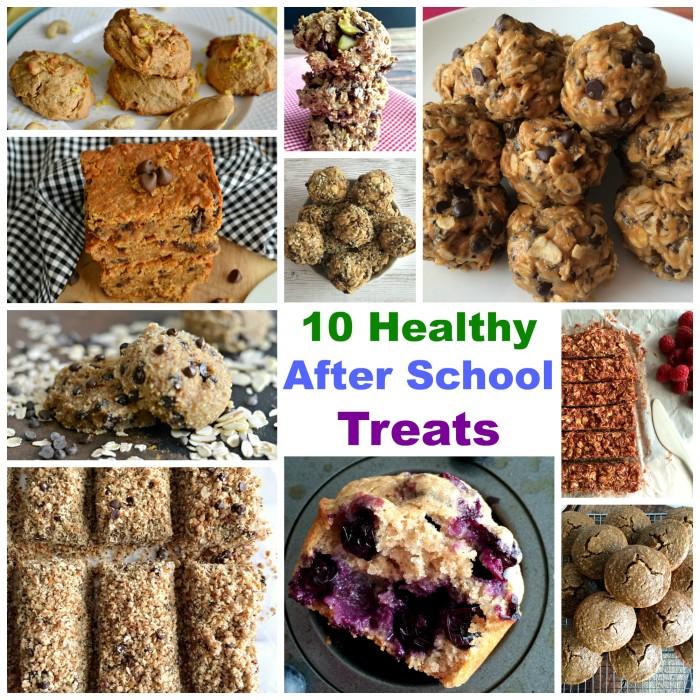 10 Healthy After School Treats