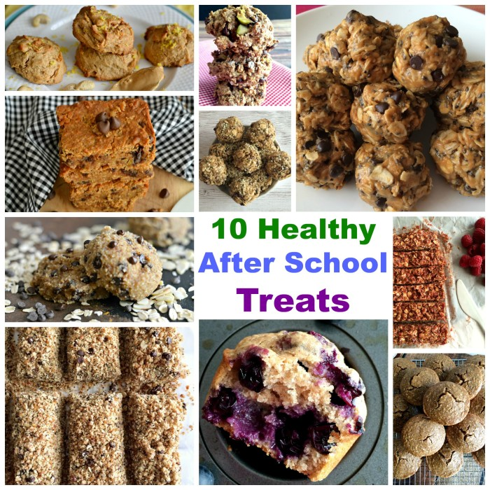 10 Healthy After School Treats