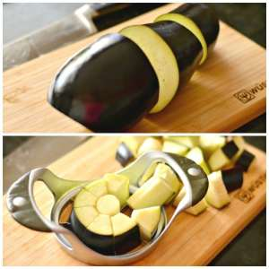 Slicing Eggplant