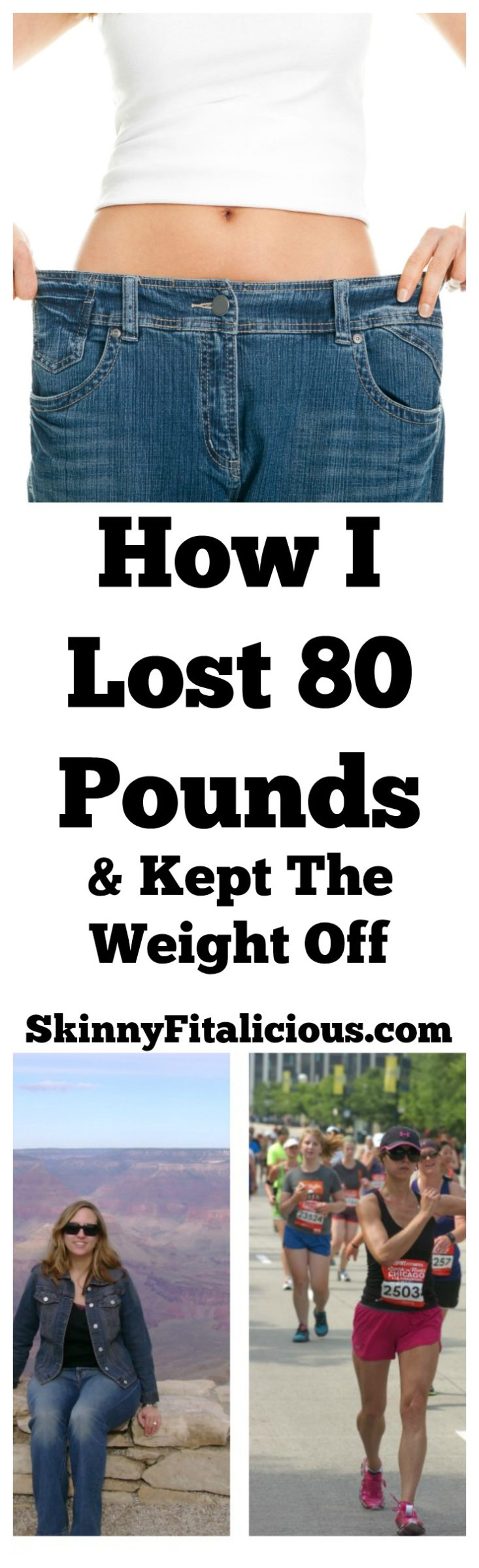After committing to eating right and exercising, I went from a size 14 to a size 2 and lost 80 pounds in a year. This is how I lost 80 pounds.