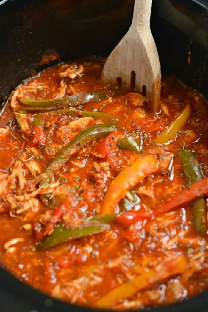 Italian Chicken and Peppers