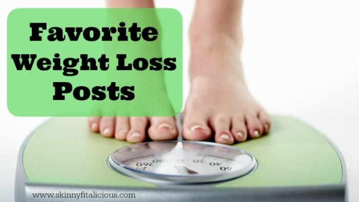 Your Favorite Weight Loss Posts