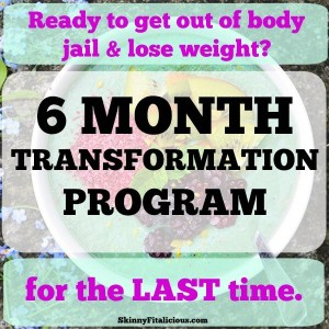 6 Month Transformation Health Coaching Program