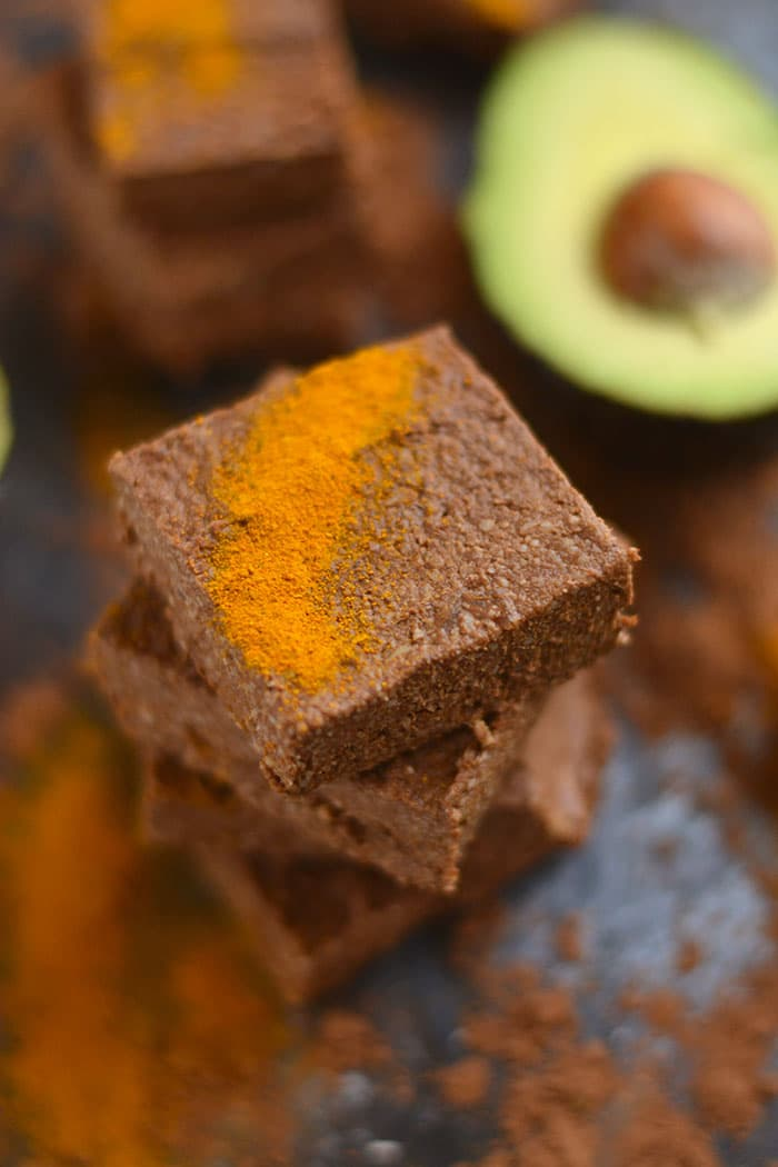 Fudge-y Chocolate Avocado Brownies naturally sweetened and loaded with antioxidants. A delicious and healthy way to satisfy a sweet tooth! Vegan + Paleo + Gluten Free