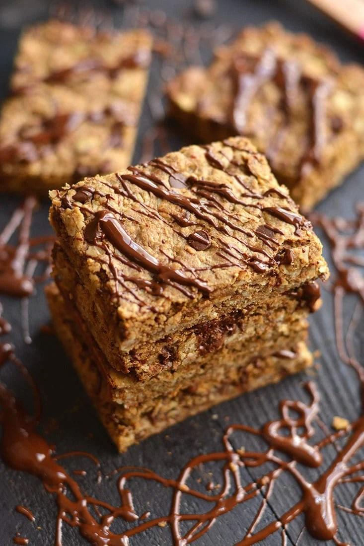 Chocolate Peanut Butter Granola Bars {GF, Low Cal, Vegan ...