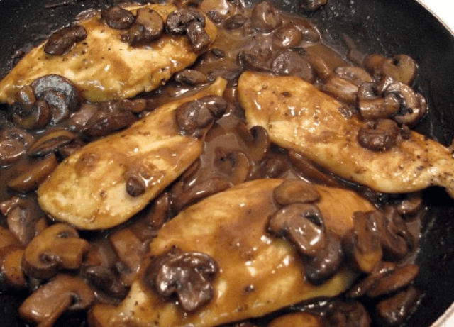 Chicken Marsala (Weight Watchers)