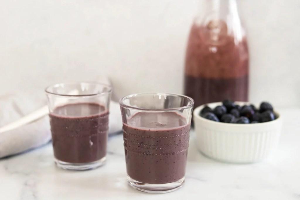 Our blueberry and banana smoothie is the perfect summer recipe.