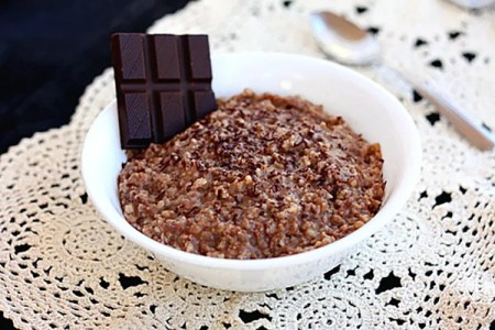 Slow Cooker – Hot Chocolate Steel-Cut Oatmeal