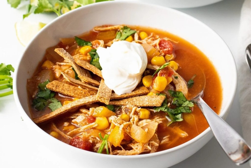 Our Slow Cooker Chicken Fajita Tortilla Soup is packed with incredible flavors from the Southwest.