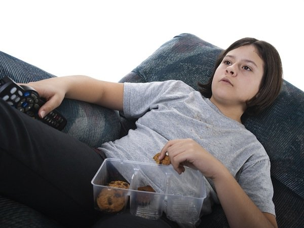 Couch Potato Kids Become Same As Adults