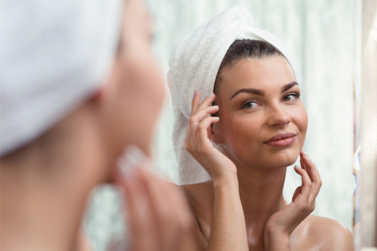 Regular exfoliation helps shrink pores and gives you healthy, glowing skin.
