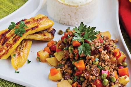 Cuban Rice and Eggs Dinner