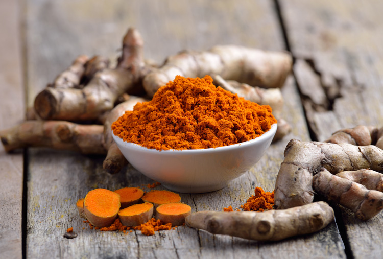 Turmeric is anti-inflammatory and antibacterial, which makes it a great ingredient for face masks!