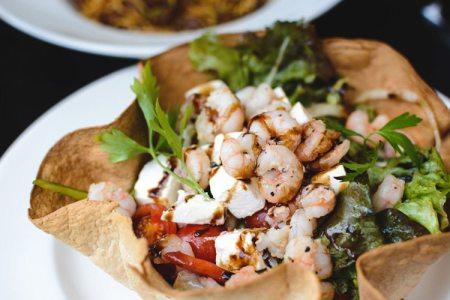 Shrimp and Feta Salad Bowl