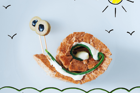 How to Make Zucchini Crostini Snails