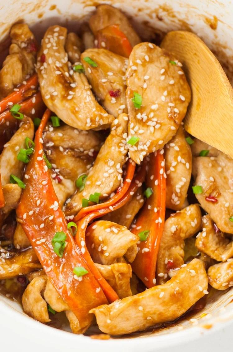 One-Pot Sesame Chicken Recipe | Healthy One-Pot Meals