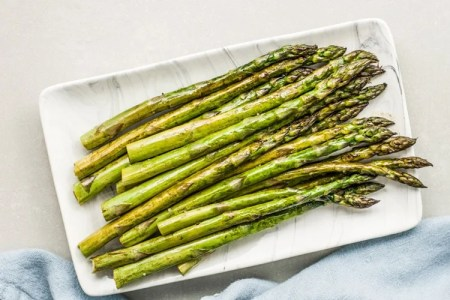 3-Ingredient Broiled Asparagus with Balsamic Brown Butter