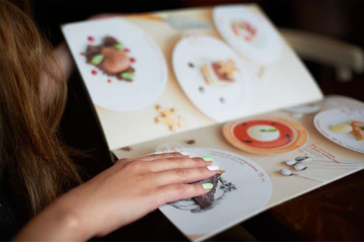 cut calories by ordering off the kids menu