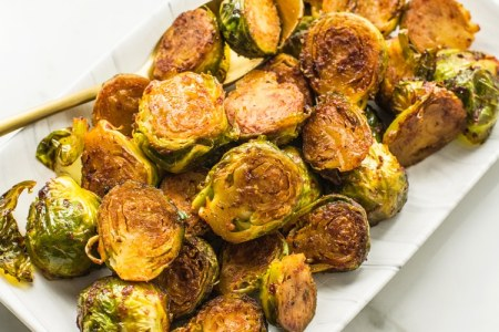 Smoky Maple Brussels Sprouts