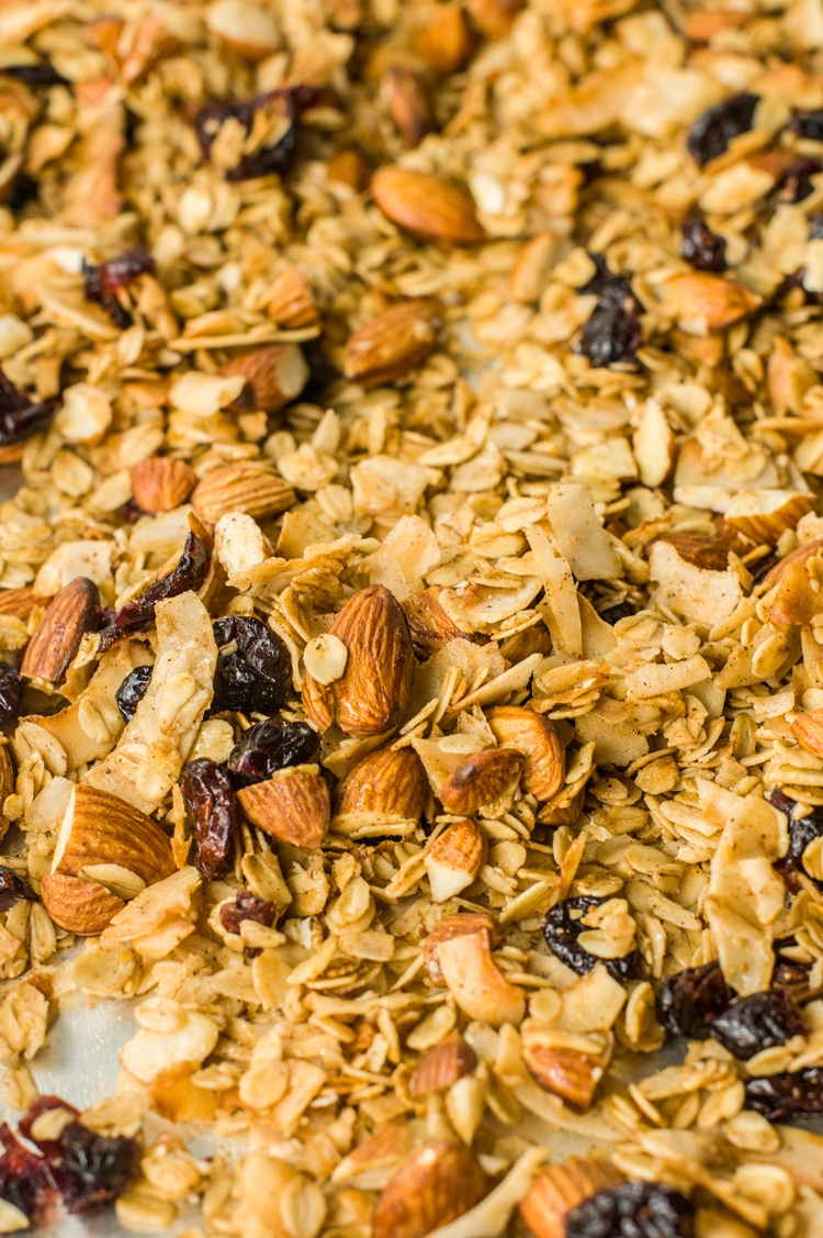 A healthy and crispy cereal recipe!